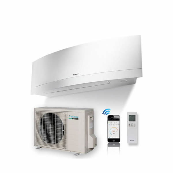 APARAT DE AER CONDITIONAT DAIKIN Emura R-32 Bluevolution - FTXJ20MW RXJ20M Inverter 7.000 BTU